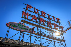 Public Market Flare (Samantha Decker) Tags: canonef1635mmf28liiusm canoneos6d pnw pacificnorthwest pikeplace publicmarket samanthadecker seattle wa washington