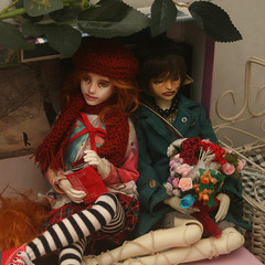 Hanging out (Blue Kitsune) Tags: bjd abjd narin bimong ringdoll mod 411