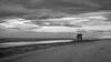 Vent de sable (Amanclos) Tags: vent wind water waves blackandwhite bw noiretblanc nouvelle portlanouvelle panorama paysages landscape nuages sky clouds ciel sable france potd:country=fr canon canoneos5dmarkiii canonef2410514lisusm