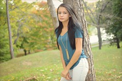 Dezzy - Rising Park (rbatina) Tags: rubbertoe pretty young woman cute girl teen brunette teenage dark long straight hair beautiful face eyes mouth nose lips thin petite little skinny body curves curvy outside outdoors bare skin arms fall park amateur pose posing model modeling sexy alluring october 22 22nd 2016 tight leggings jeggings pants legs hips butt booty hot captivating lady white tattoo tattooed ring piercing shirt top