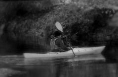 (merseymouse) Tags: monochrome blackandwhite boats canoes rivers
