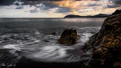 At White Rock (Szabo Peter) Tags: beach canon canon6d desaturated dublin ireland killarney longexposure seascape sigma sigma24105 whiterock szabo magyarok ndfilter leefilter