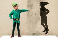 Peter Pan (J_Casado) Tags: peterpan peter nio boy children disfraz carnaval villalonga valencia espaa foto shoting sombra encuandre