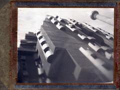 Walden 07 (RafaelGonzalez.) Tags: walden07 architecture barcelona spain espaa europe polaroid polaroidtype55 type55 largeformat graflex speedgraphic 4x5 blackandwhite film analogue rafaelgonzalez