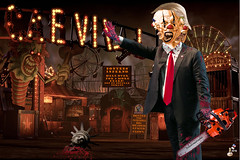 Dontee The Incredible Big Headed Three Faced Clown (The Devils in the Details) Tags: donaldtrump politicallyincorrect douchebag thewizardofoz barrontrump gop isis judygarland christianterrorist asshole margarethamilton vladimirputin makedonalddrumpfagain sexdrugsandrockandroll hillaryclinton tinytrump plannedparenthood bigot dumptrump thewalkingdead republican pedophile usafreedomkids wickedwitchofthewest nastywoman badhombre conservative rape joyfulheartfoundation conversiontherapy marriageequality gay equality kukluxklan daryldixon downtonabbey pussy melaniatrump jihad terrorist taliban fearthewalkingdead wifebeater walmart mexicanwall racism confederateflag nazi stumpjumpers religion islam hilaryclinton berniesanders americannaziparty thebeatles therollingstones music gardening democrat rainbow tednugent dolls boycotttarget donaldtrumpspenis contraception abortion tinfoilhatsociety batteredwomansyndrome she'sacunt foxnews fake fantasyland thebirds liberal
