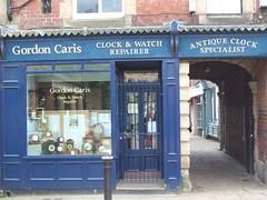 Shop fronts in Hexham - 2 (Tom Burnham) Tags: uk northumberland hexham shop archway