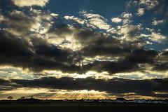 Graben at 3:37 p.m. (full colour version) (++sepp++) Tags: bayern clouds deutschland landscape landschaft landschaftsfotografie lechfeld lnder wolken germany bavaria graben sonnenstrahl rays sunrays village dorf november