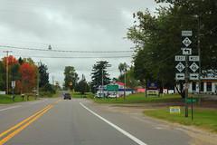M66sRoadSignLeft-M46ewSigns (formulanone) Tags: michigan sign road roadsign m66 66 m46 46