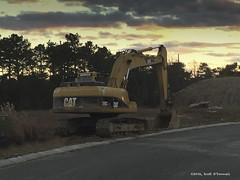 Caterpillar (scottnj) Tags: cat caterpillar excavator heavyequipment scottnj scottodonnellphotography 338366 cy365 365project yellow construction constructionequipment earthmoving redditphotoproject reddit365 tracks