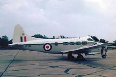 Photo of VP981 de Havilland DH.104 Devon C2 cn 04205 Royal Air Force RAF Northolt 20Apr78