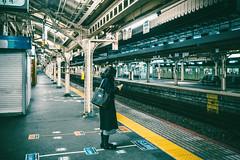 Kyoto_2 (hans-johnson) Tags: 1635 35mm people human woman station eki kyoto kinki kansai japan nihon nippon railway jr film vsco vscocam vscofilm canon eos 5d 5d3 5dm3 5diii street asia yellow            city urban   lightroom