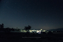Under the stars (Pawel A K) Tags: theworldthroughourlenses oman camp night stars blue 4wd outdoor tent sky