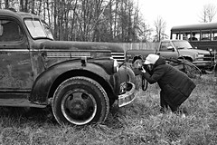 Capturing Creativity (timmerschester) Tags: truck country vintage rusty photographer cold michigan