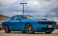 Blue Dodge Challenger R/T - Tamron SP 85mm F1.8 - Canon 5D Mark IV (abysal_guardian) Tags: blue dodge challenger rt tamron sp 85mm f18 canon 5d mark iv eos 5dmarkiv 5dm4 5dmk4 5d4 tamronsp85mmf18divcusd di vc usd car american muscle v8 hemi 57l power auto