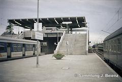 Mnchen 26-Mai 1972 Erffnung S-Bahnhof Olympiastadion Mnchen (Pacific11) Tags: mnchen sbahn oberwiesenfeld train track station bahnhof olympiade olympiastadion erffnung railway railroad vintage alt 1972 26mai fussball et420 udssr olympiabahnhof