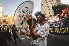 Brazil-protests-beginning-Olympics-22 (Josev Carrillo) Tags: brazil rio2016 olimpiadas juegosolimpicos 2016 riodejaneiro manifestacion protesta rally presidente micheltemer juegos exclusion jogos exclusao