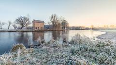 Winter Morning at The Apppelhuisje (wimzilver) Tags: alblasserdam wimzilver wimboon nederland holland cold winter sunrise leefilter canonef1635mmf4lisusm canoneos5dmarkiii 169 appelhuisje