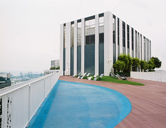 Rooftop Chill (OzGFK) Tags: asia singapore tanjongpagar pinnacleatduxton hdb pinnacle duxton rooftop skydeck skypark serene mediumformat 120 645 film analog pentax urban