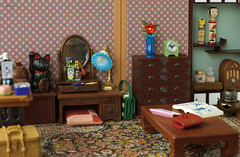 Modern room (Minit) Tags: rement miniature modern girl room