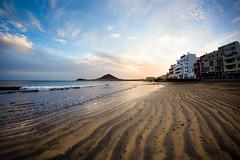 El Medano beach (Zeeyolq Photography) Tags: beach canaria city elmedano sunset tenerife elmdano canarias espagne