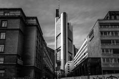 Commerzbank Tower (Lutz Hahn) Tags: commerzbank tower frankfurt main blackandwhite architektur