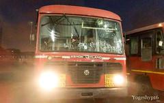 Borivali - ratnagiri - ghadivatar (yogeshyp) Tags: msrtc st msrtcparivartanbus ratnagirist
