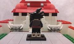 goku black (back) (teamfourstud) Tags: minifigures figures minifigure figure mini background white cartoon illustration lego decals custom indoor evil super z ball dragon dbs dbsuper dbz black goku hit zamasu