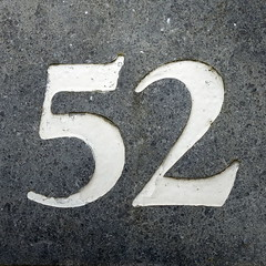52 (JdRweb) Tags: numbers nummers sonydscrx100