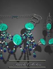 J&W-Jewelers-Pamela-Collection-Turq-and-silver (Wenadrenia Soderstrom) Tags: g jewelry womensjewelry shoeniquedesigns secondlife diamonds gold silver wenadreniasoderstrom elliemonk exclusivesljewelry