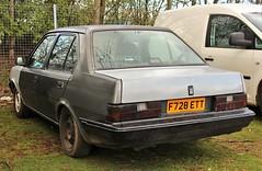 F728 ETT (Nivek.Old.Gold) Tags: 1988 volvo 340 gle 17 4door sprakesmotorsport
