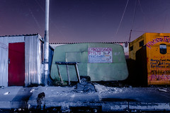 Untitled (elsableda) Tags: cape town southafrica light township stret street urban sky stars long exposure