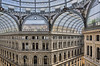 Galerie Umberto 1er de Naples (Voyages Lambert) Tags: travel tourism galleriaumberto artmuseum shopping glassmaterial famousplace architecture traveldestinations naplesitaly italy dome window workshop monument citycenter