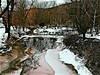 Tawny Tones (Professor Bop) Tags: professorbop drjazz colrainmassachusetts olympuse5 winter snow ice melt pond stones tawny trees