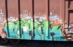 airik (Uncle Seymour Bencher) Tags: graffiti florida steel seymour streaks taft freight boxcars bencher monkers seemorebencher
