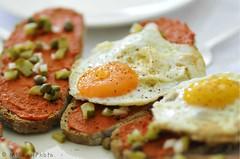 easter 2012 (MiChaH) Tags: food easter spring brunch lente sandwiches eten pasen eieren egges