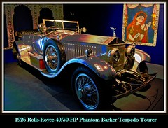 1926 Rolls Royce Phantom Barker Torpedo Tourer (PictureJohn64) Tags: auto heritage classic car museum automobile driving traffic famous den transport hague collection commercial transportation historical rolls torpedo barker phantom haag collectie royce fahrzeug oto 1926 tourer historisch verkeer vervoer klassiek  samochd beroemd gravenhage otomobil louwman automobiel worldcars  automoviel klassiesch