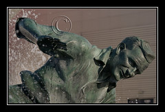 "#Sir Tom Finney "" Splash "" Sculpture : # Nikon 105mm AF Micro @ F8 # PNE # Preston North End : (norbet1) Tags: uk england english digital photoshop nikon north lancashire adobe preston british nikkor pne lenses nikond1x prestonnorthend d1x 105mmf28micro 105mmf28dmicro alienskinexposure macrolenses nikon105mmf28afmicro nikkormicro199093105mmf28autofocus"