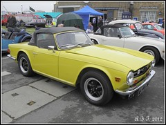 Triumph TR6 (Alan B Thompson) Tags: car transport picasa olympus medway 2012 sp590uz
