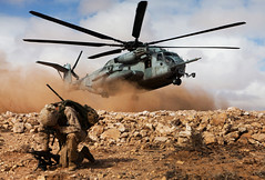 Kickin' Up Dust (United States Marine Corps Official Page) Tags: brown usmc training ma marine rocks helicopter meu morocco marines tantan unitedstatesmarinecorps 24thmeu 24thmarineexpeditionaryunit battalionlandingteam marinetraining al12 capdraa 81mmmortar marinetrainingexercise 1stbattalion2ndmarineregiment exerciseafricanlion2012 cpltylerlmain
