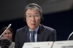 Ryuhei Maeda attending the session