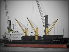 Antofagasta - Puerto (Victorddt) Tags: chile puerto crane vessel sonycybershot antofagasta grúa nortedechile iiregión dsch55