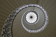 The Tulip Stairs: Queen's House (curry15) Tags: london greenwich wroughtiron explore staircase balustrade inigojones se10 thequeenshouse gradeilisted helicalstairs thetulipstairs circa1630