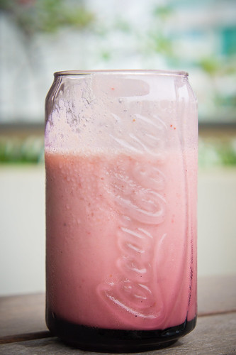 Yuzu Strawberry Banana Smoothie