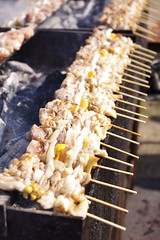 Yakitori (kumakichi) Tags: food public japanese foods