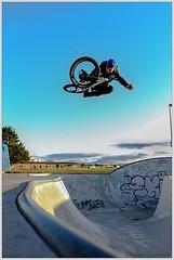 Callum Blasting! (Damon Colbeck) Tags: bmx air riding tasmania hip tabo callum devonport blasting polden