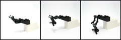 Landing Gear (Exius_) Tags: new two work chopper pieces lego twin progress gear wip corporation landing helicopter land piece corp copter heli tailed exo faction exius