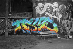 true (wallsdontlie) Tags: true graffiti halloffame