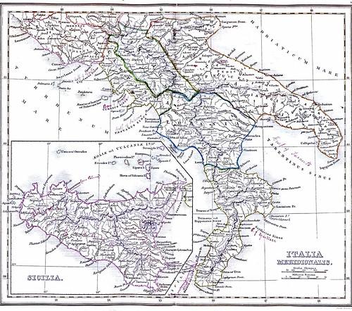 Sud Italia 1849