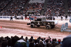 IMG_0053 (Nighthauler Photography) Tags: tractor cars truck pull meadowlands arena crushing bigfoot sled weight