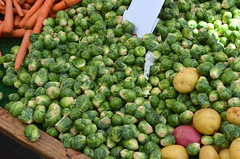 May 26: Brussel Sprouts (earthdog) Tags: food nikon farmersmarket vegetable fremont irvington edible brusselsprout fremontca 2013 afsdxvrzoomnikkor1855mmf3556g d5100 irvingtonfarmersmarket nikond5100